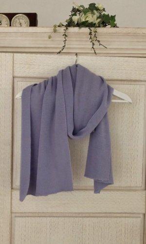 Bufanda de punto púrpura