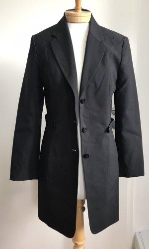 Oktavia Lange blazer zwart Polyester