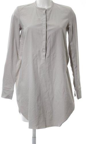Schumacher Lange blouse lichtgrijs casual uitstraling