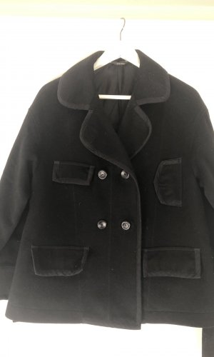 Schwarze Jacke aus Wolle von Stefanel