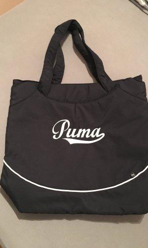 Puma Sports Bag black-white