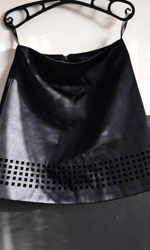 Topshop Skater Skirt black
