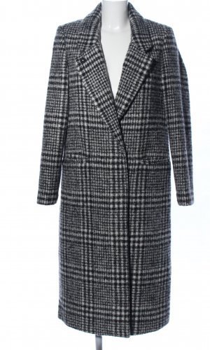 Scotch & Soda Wool Coat light grey allover print business style