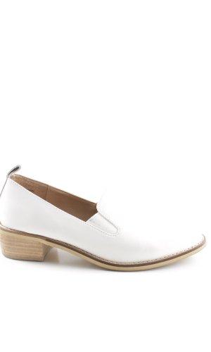 Shellys Monjes blanco estilo «business»