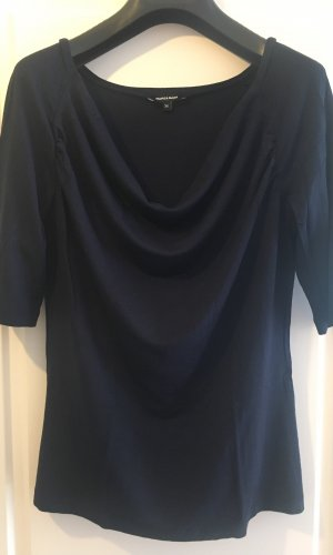 More & More Waterval shirt donkerblauw