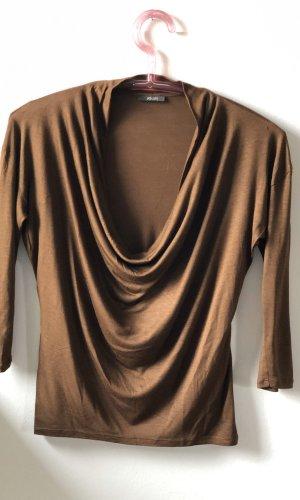 Joop! Waterval shirt bruin