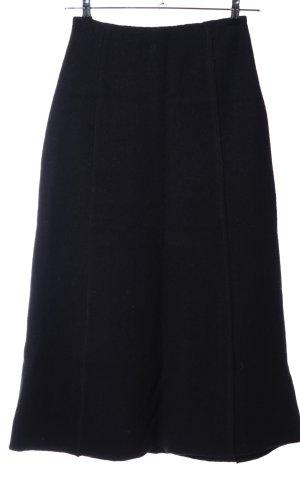 Simclan Wollen rok zwart casual uitstraling