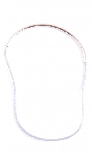 Skagen Necklace gold-colored-silver-colored casual look