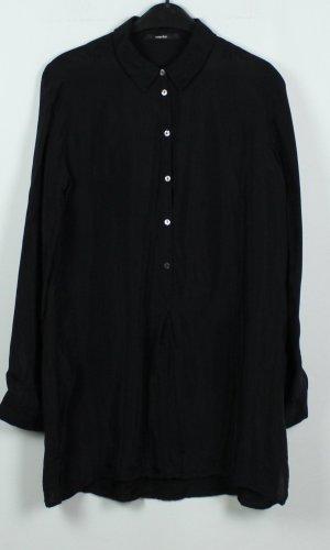 someday Lange blouse zwart Gemengd weefsel