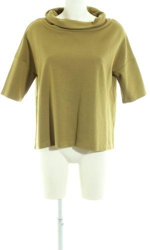 someday Sweater met korte mouwen groen zakelijke stijl