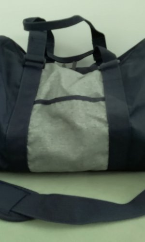 Champion Sports Bag grey-dark blue polyester