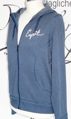Esprit Sports Veste sweat bleu tissu mixte