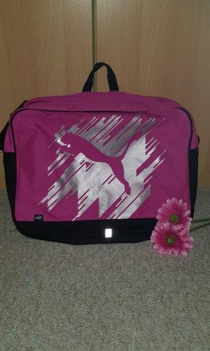 Puma Sports Bag black-pink