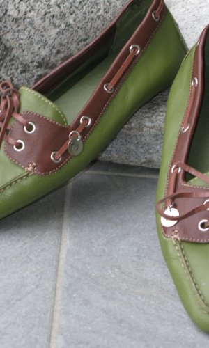 Marc O'Polo Moccasins green grey-brown red