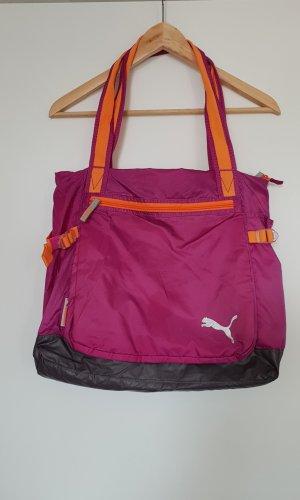 Puma Sports Bag neon orange-pink
