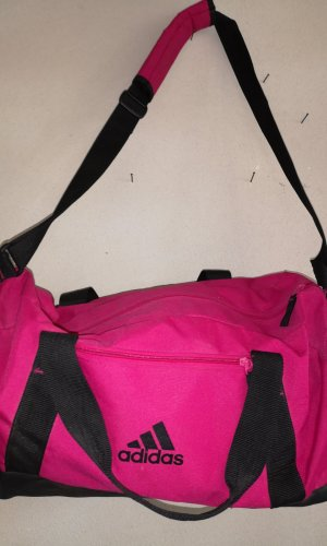 Adidas Sports Bag black-magenta