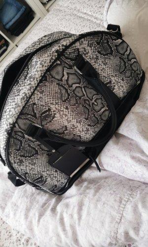 Primark Sports Bag white-dark grey