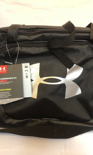 Under armour Sports Bag black-silver-colored
