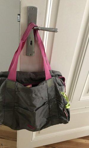Puma Sports Bag grey-pink