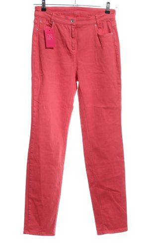 Steilmann Pantalón elástico rojo look casual