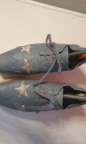 Stella McCartney Zapatos brogue azul pálido