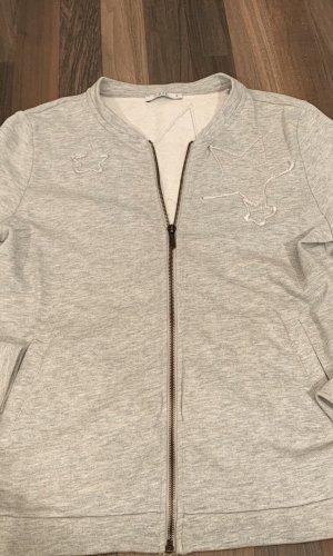 edc Veste sweat gris clair-gris