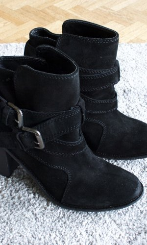 Zara Basic Laarsjes zwart