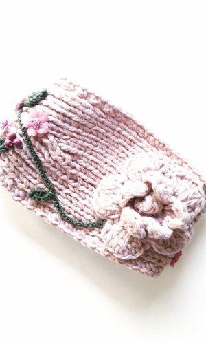 Vintage Stoffen muts stoffig roze