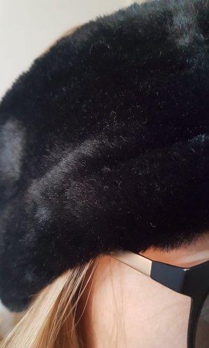 H&M Earmuff black polyester