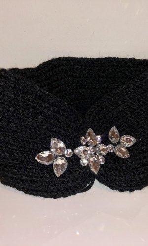 Earmuff black-silver-colored