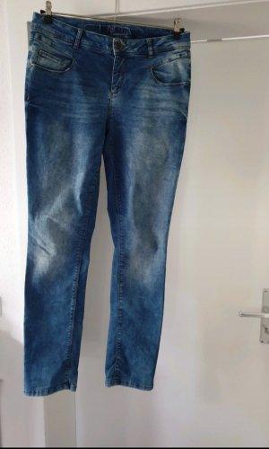 Street One Pantalón elástico azul acero-azul aciano