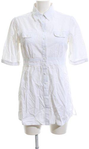 Street One Lange blouse wit zakelijke stijl