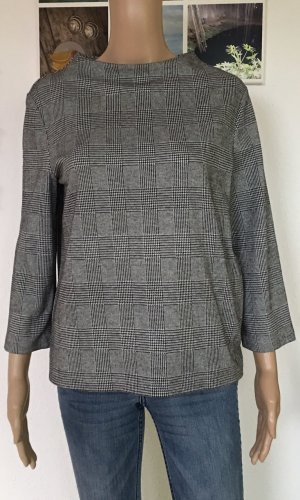 Street One Sweater met korte mouwen zwart-wit