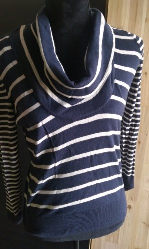 Mexx Waterval shirt donkerblauw-wolwit
