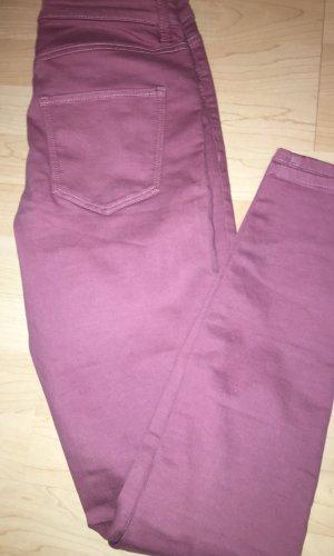 Esprit Pantalón elástico color rosa dorado