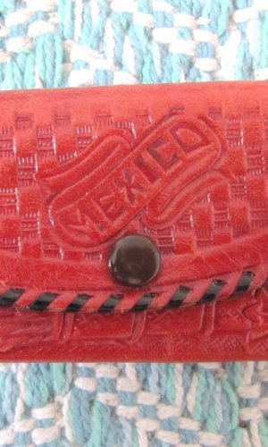 Key Case multicolored leather