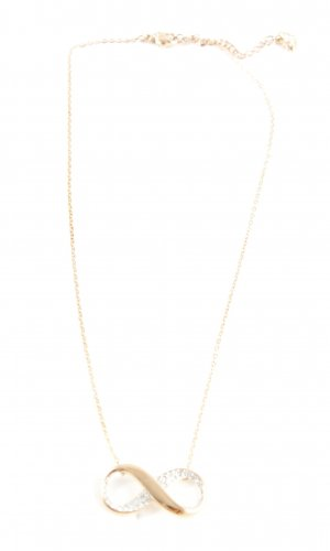 Swarovski Necklace gold-colored elegant