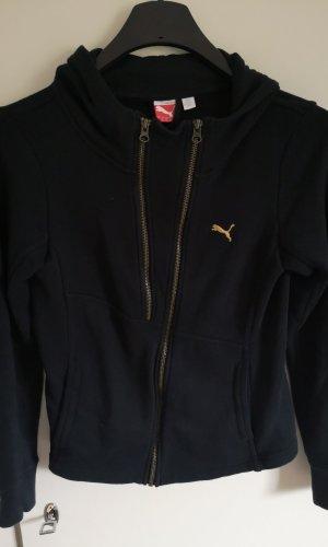 Puma Veste sweat noir-doré