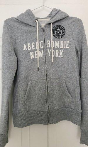 Abercrombie & Fitch Veste sweat gris