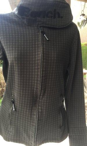 Bench Veste sweat gris anthracite-taupe coton