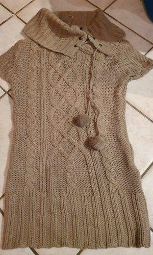 C&A Sweaterjurk lichtbruin