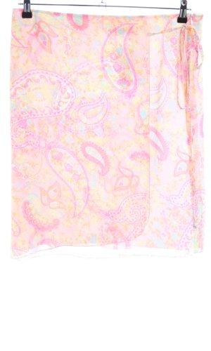 Taifun Wikkelrok roze-sleutelbloem abstract patroon casual uitstraling