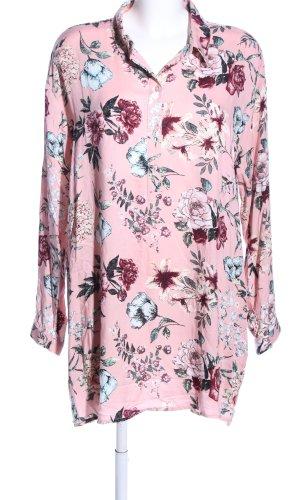 Takko Lange blouse bloemenprint casual uitstraling