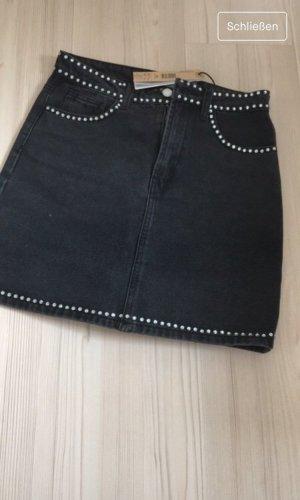 Tally Weijl Jupes-culottes noir-argenté