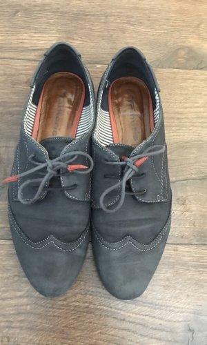 Tamaris Zapatos brogue azul oscuro