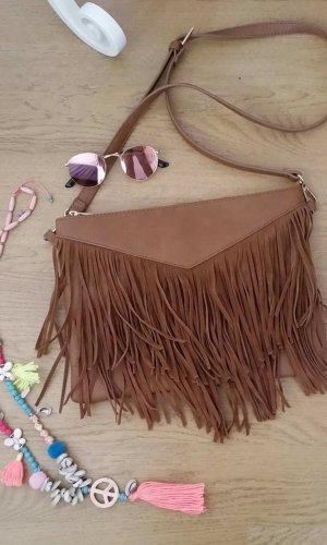 Pimkie Fringed Bag multicolored