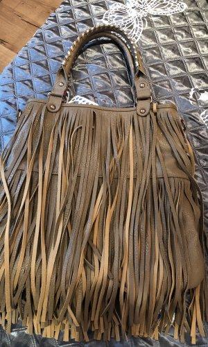 London eee Fringed Bag light brown-beige