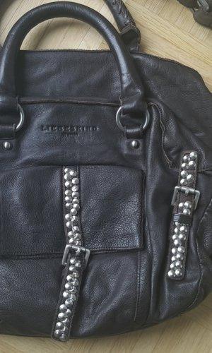 Liebeskind Bag black brown-brown leather