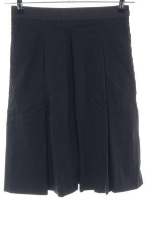 (The Mercer) NY Jupe à plis noir style d'affaires