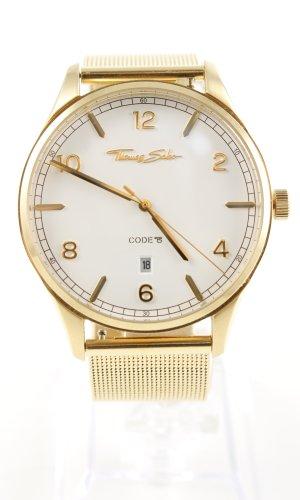 Thomas Sabo Reloj analógico color oro estilo «business»